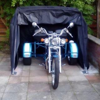 Ръчен сгъваем гараж за мотор или ATV