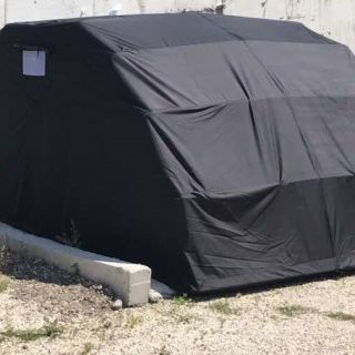 Ръчен сгъваем гараж за автомобил 5800x2600x2100mm